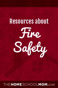 Resources about fire safety