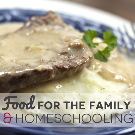 Food For the Family & Homeschooling