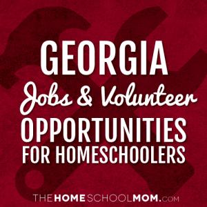 Georgia Homeschool Volunteering & Job Opportunities