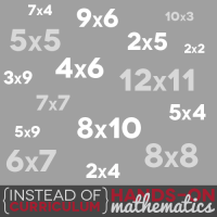 Instead of Curriculum: Hands-on Math
