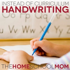 Handwriting: What to use instead of curriculum