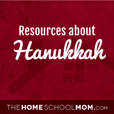 Homeschool resources about Hanukkah