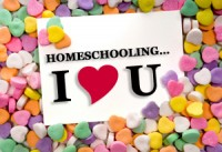 Homeschooling, I love you!