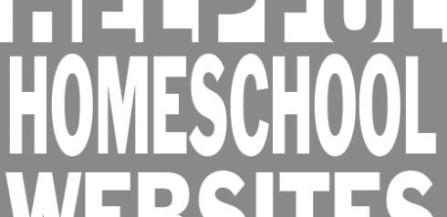 TheHomeSchoolMom: List of helpful homeschool websites