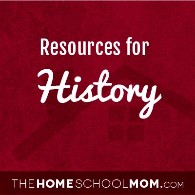 Homeschool resources for history