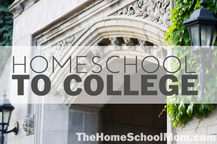 TheHomeSchoolMom: Homeschool to College