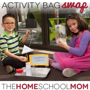 Put homeschooling in the bag with homeschooling activity bags