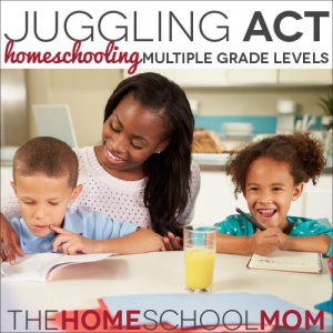 TheHomeSchoolMom Blog: Homeschooling Multiple Grade Levels