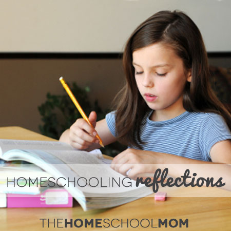 TheHomeSchoolMom: Reflections - Homeschooling Review