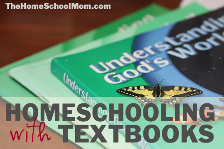 TheHomeSchoolMom: Homeschooling with Textbooks