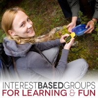 Interest-based groups for learning (& fun)