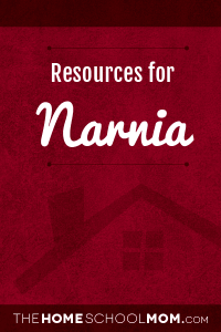 Homeschool resources about Narnia