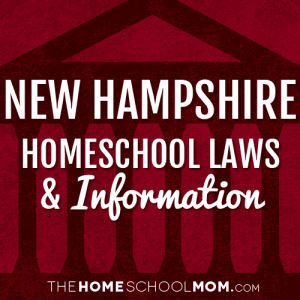 New Hampshire Homeschool Laws & Information