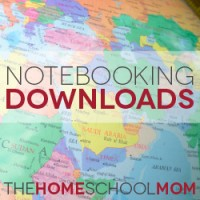 Notebooking Downloads: Country, State, and Province Notebooking Units
