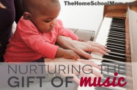 TheHomeSchoolMom: Nurturing the Gift of Music, Part 1: Babies and Music