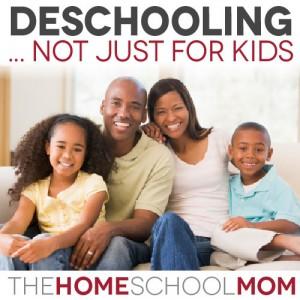 Parental Deschooling: Deschooling is not just for kids
