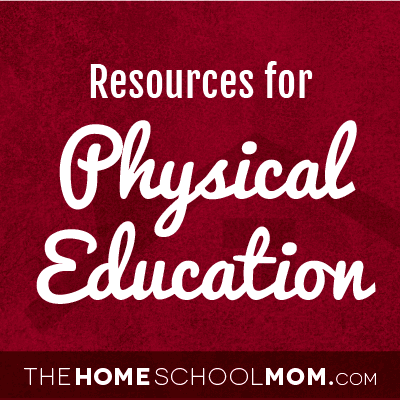 Homeschool resources for PE