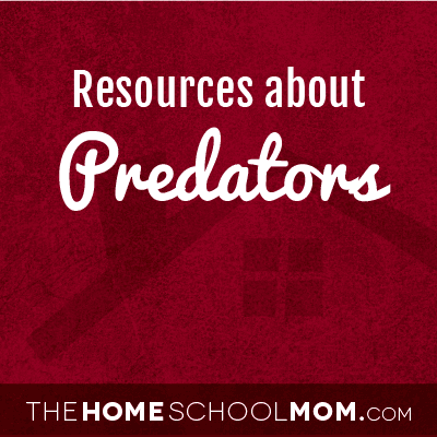 Homeschool resources about predators