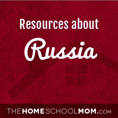 Homeschool resources about Russia