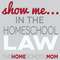 TheHomeSchoolMom - The Show Me letter politely asks school officials to show where the law says the request for information is legally permissable