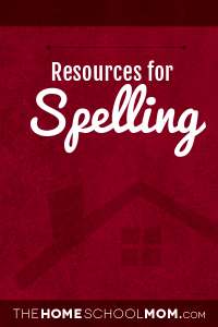 Homeschool resources for spelling