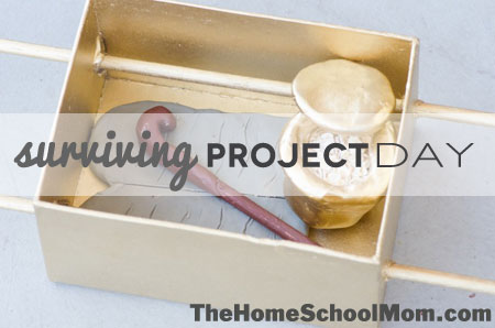 TheHomeSchoolMom: Surviving Project Day