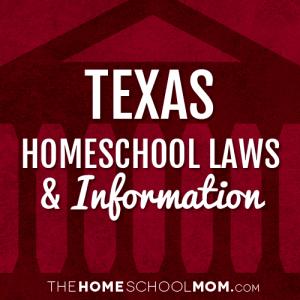 Texas New York Homeschool Laws & Information