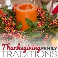 Thanksgiving Family Traditions
