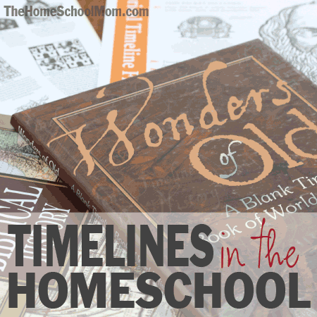 TheHomeSchoolMom: Timelines in the Homeschool