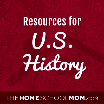 Homeschool resources for US history