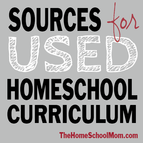 TheHomeSchoolMom: Sources for used homeschool curriculum