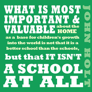 TheHomeSchoolMom: Homeschooling Is Not Public School At Home