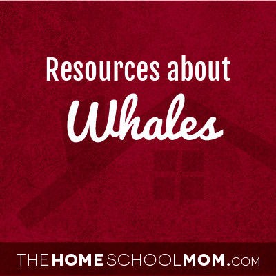 Homeschool resources about whales