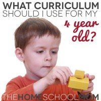 TheHomeSchoolMom Blog: What Curriculum Should I Use For My 4 Year Old?