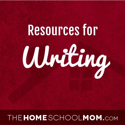 Homeschool resources for writing